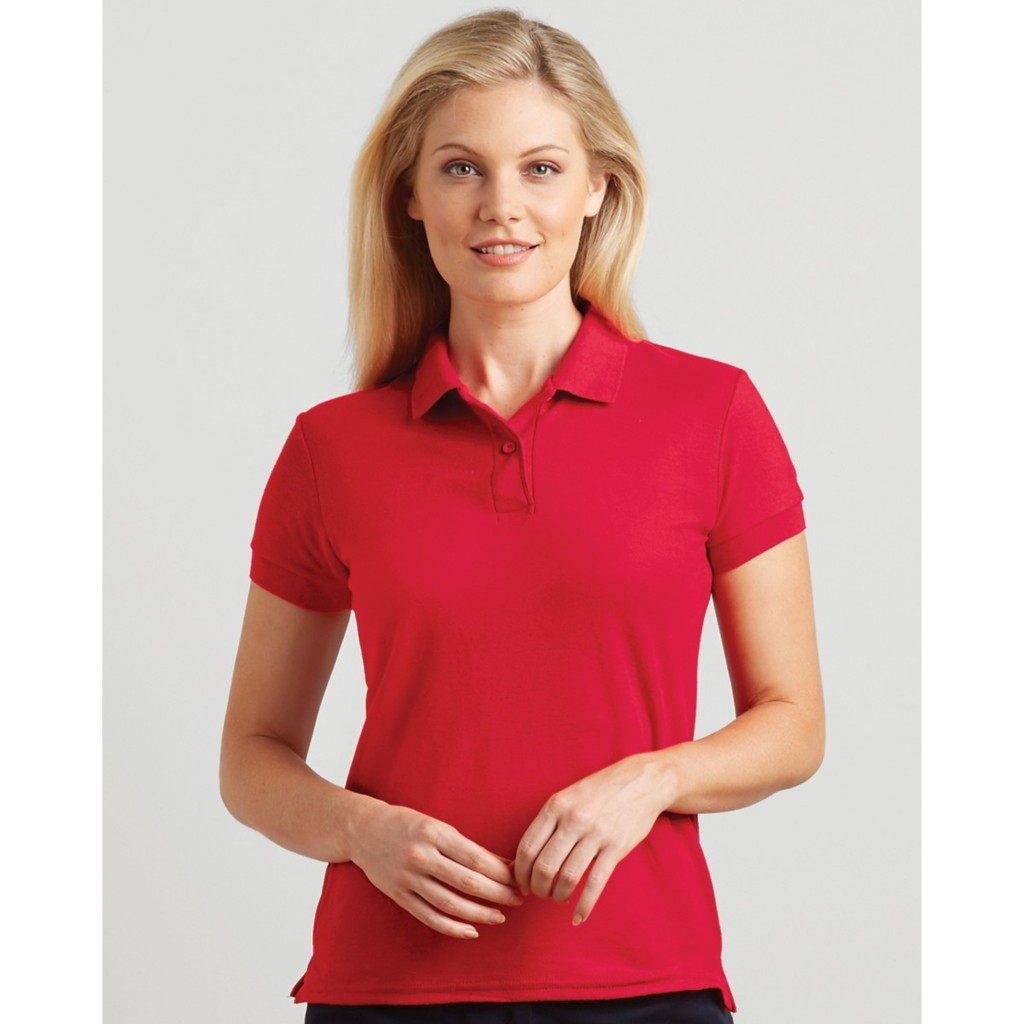 Ladies Polo Shirt – Triune Textiles 3d7fbeb660f9